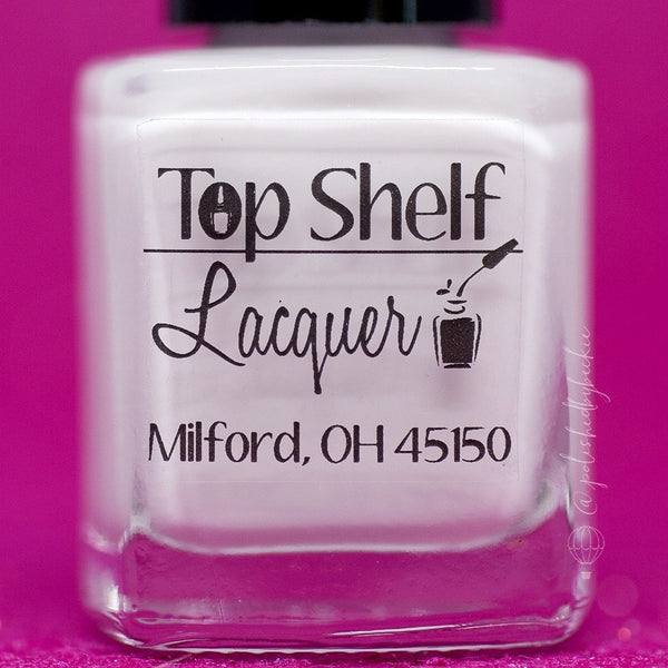White Russian, Basic White Creme (1 bottle) - Top Shelf Lacquer - 2