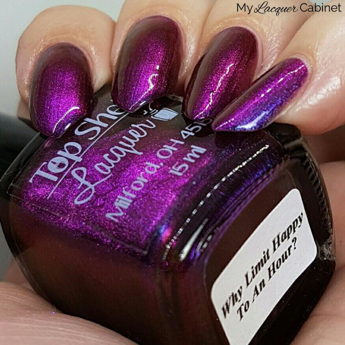 Nail Polish - Why Limit Happy To An Hour? August 2016 (1 Bottle)