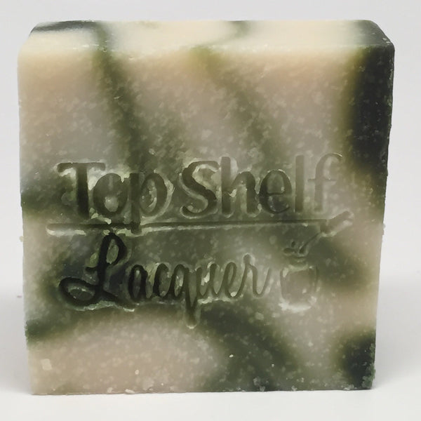 Cucumber Melon Handmade Soap (1 Bar) - Top Shelf Lacquer - 2
