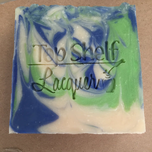 Soap - Spearmint Eucalyptus Greek Yogurt Handmade BEER Soap (1 Bar)