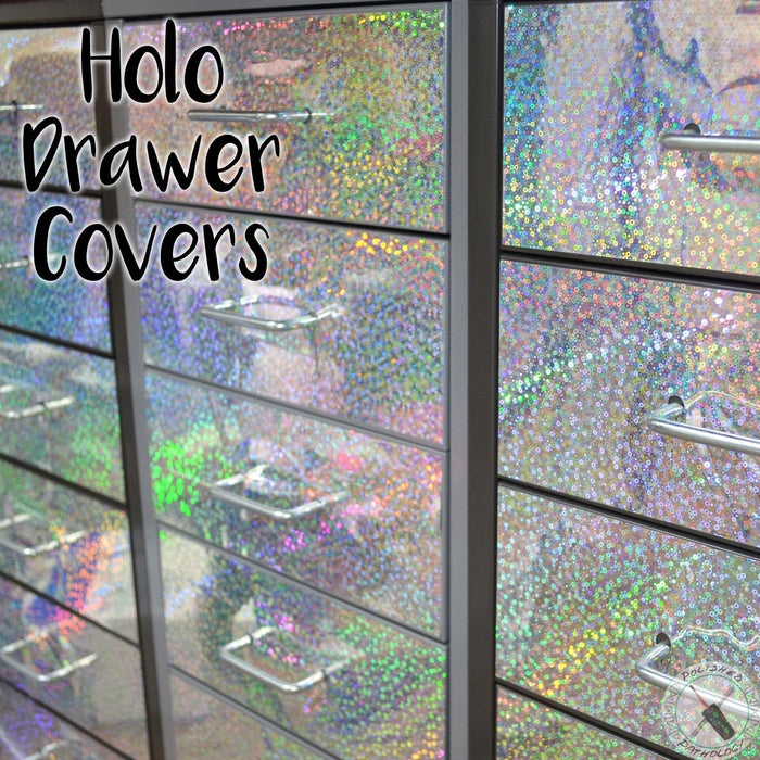 Vinyl - Holo Helmer Drawer Front Cover - One Drawer