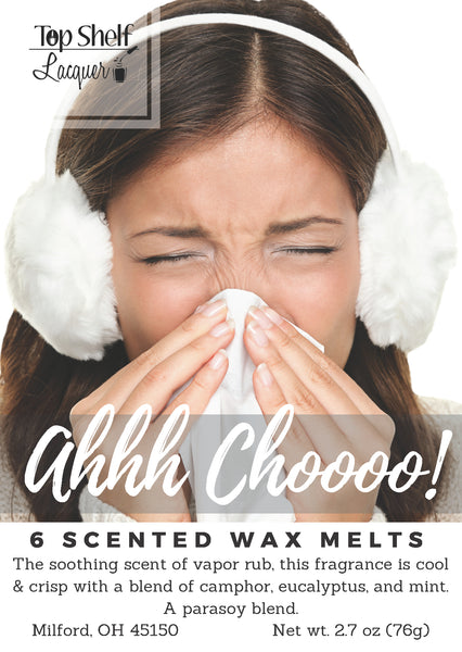 Wax Melts - Ahhh Choooo! Scented Wax Melts