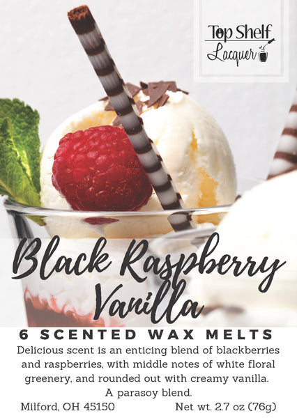 Wax Melts - Black Raspberry Vanilla Scented Wax Melts