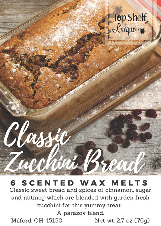 Wax Melts - Classic Zucchini Bread Scented Wax Melts