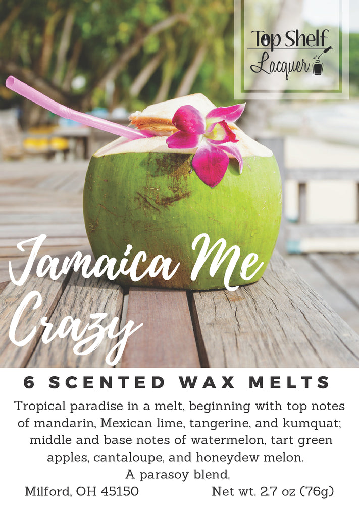 Wax Melts - Jamaica Me Crazy Scented Wax Melts