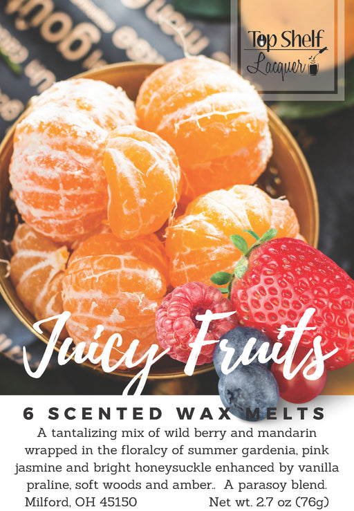 Wax Melts - Juicy Fruits Scented Wax Melts