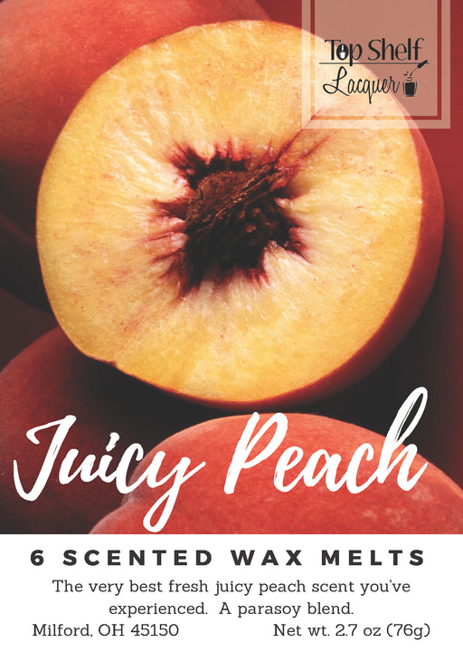 Wax Melts - Juicy Peach Scented Wax Melts