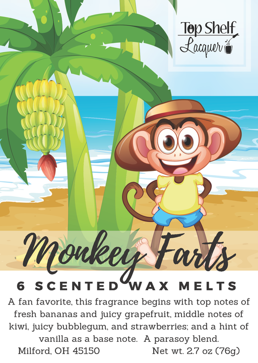 Wax Melts - Monkey Farts Scented Wax Melts