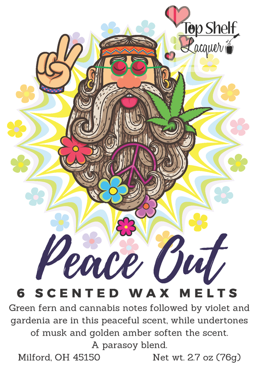 Wax Melts - Peace Out Scented Wax Melts