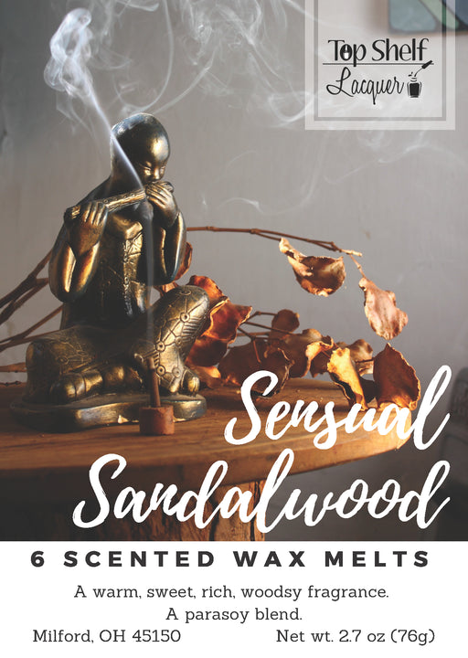 Wax Melts - Sensual Sandalwood Scented Wax Melts