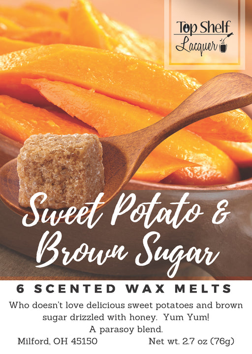 Wax Melts - Sweet Potato & Brown Sugar Scented Wax Melts