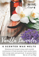 Wax Melts - Vanilla Lavender Scented Wax Melts