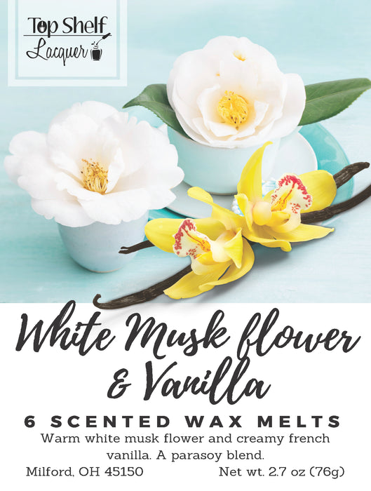 Wax Melts - White Musk Flower & Vanilla Scented Wax Melts
