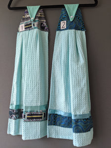 Hanging Tea Towel – Light Blue