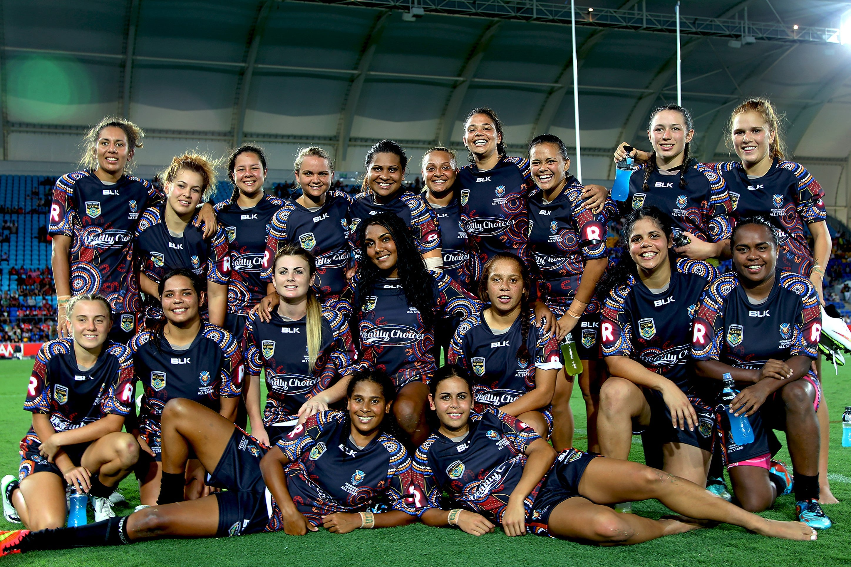 Indigenous Women's All Stars NRL Team 2015, Gold Coast