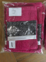 Load image into Gallery viewer, Hand Towel & Washer Set - Pink