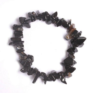 Black Onyz Crystal stretch bracelet