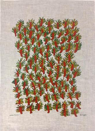 Tea Towel - Wattle Tree Design