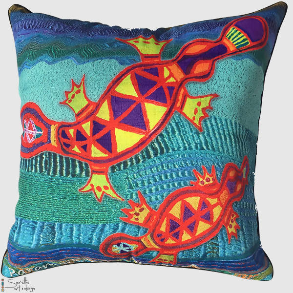 Totem Paramaibaan Platypus Cushion Cover