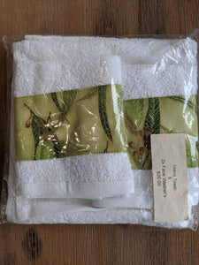 Hand Towel & 2 x Washer Set