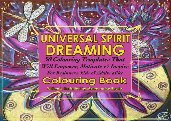 Universal Spirit Dreaming Coluring Book