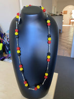 Load image into Gallery viewer, Chambray Link necklace (long)