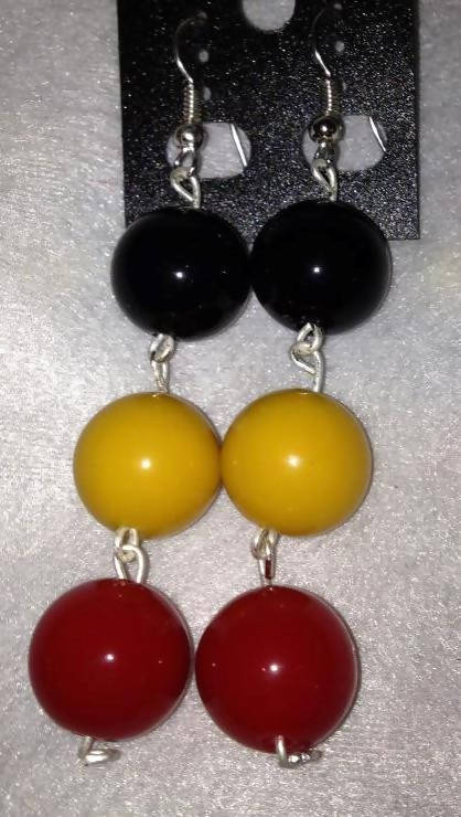 12mm ball earrings
