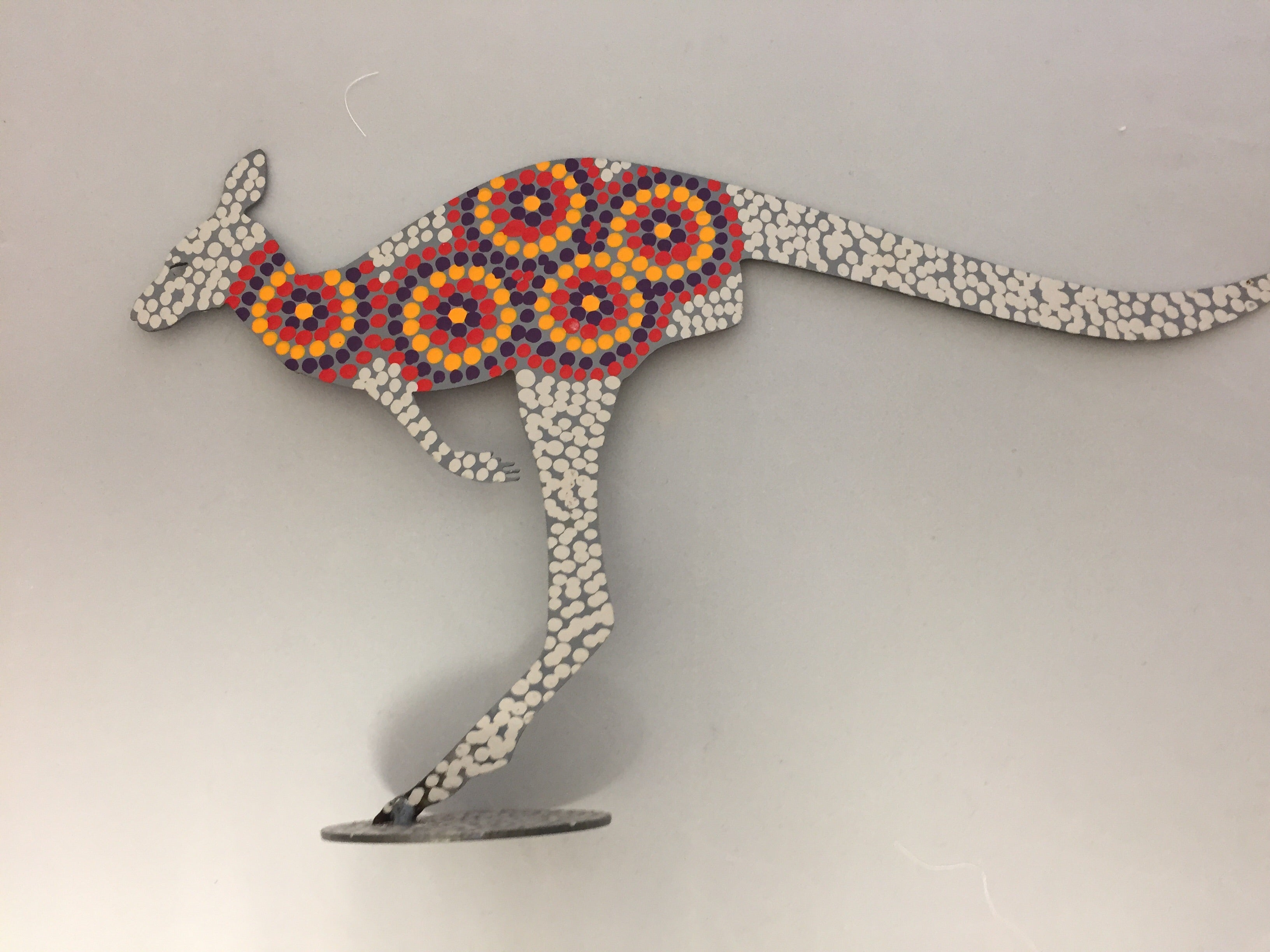 Kangaroo Steel Art