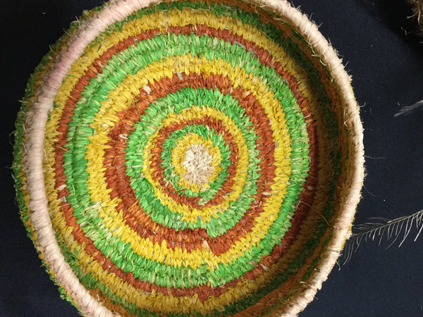 Tjanpi Weavers basket small