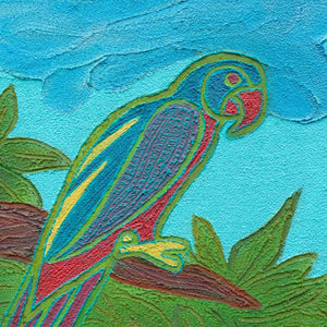 Dhuwulung - Lorikeet Original Artwork