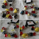 Load image into Gallery viewer, Aboriginal Coloured Charm Bracelet