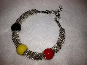 Three bead Tibetan bracelet