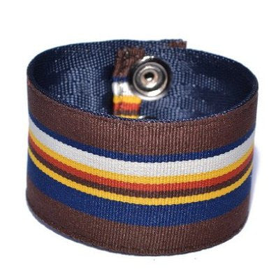 Providence Pattern Striped Souldier Guitar Strap Bracelet