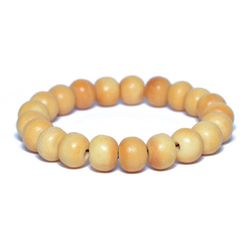 Men's Antique Bone Bead Bracelet