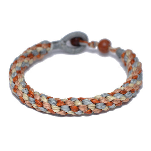 Multi-Colored Buddhist Bracelet for Men