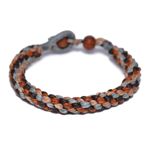 Men's Multi-Colored Buddhist Bracelet