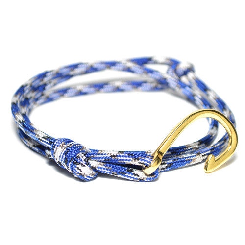 Men's Multi Colored Wrap Hook Bracelet