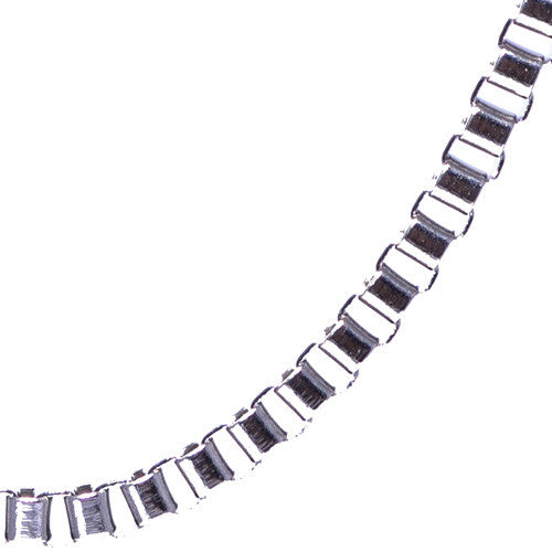 "Men's 20"" Stainless Steel Box Chain"