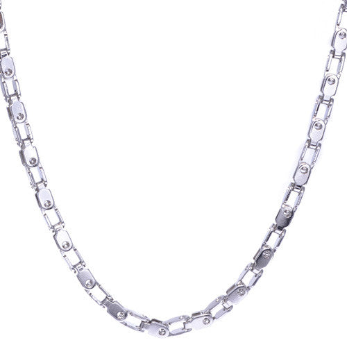 Men's Stainless Steel Link Necklace