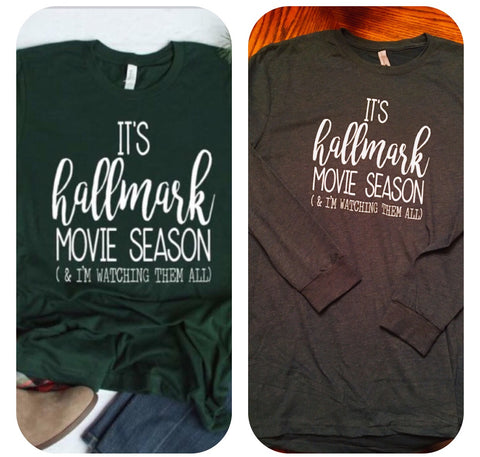 Hallmark Movie Season Tee