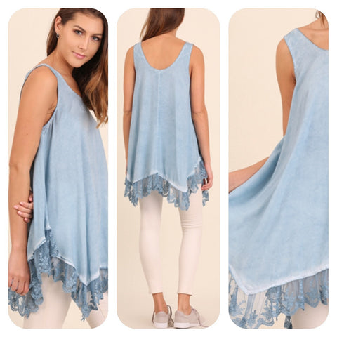 Sleeveless A-Line Tunic