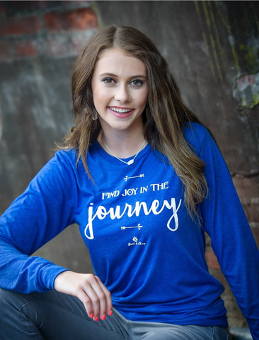Joy In The Journey Tee (Long Sleeve)
