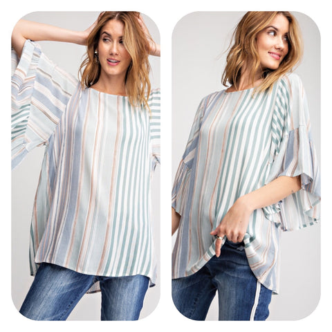 Wormwood Bell Sleeve Tunic