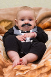 Petite Handlebar Mustache Pacifier For Babies and Toddlers with Quality Packaging