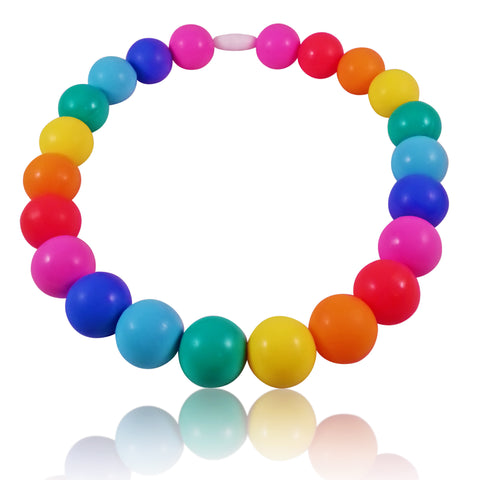 Jubilee Baby Teething Necklace for children to wear-Made With 100% Food Grade Silicone