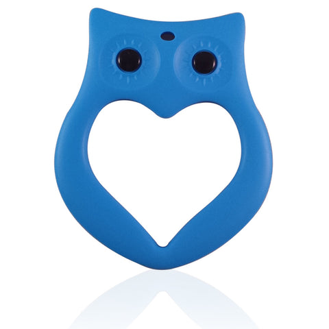 LARGE OWL BPA Free Silicone Teether
