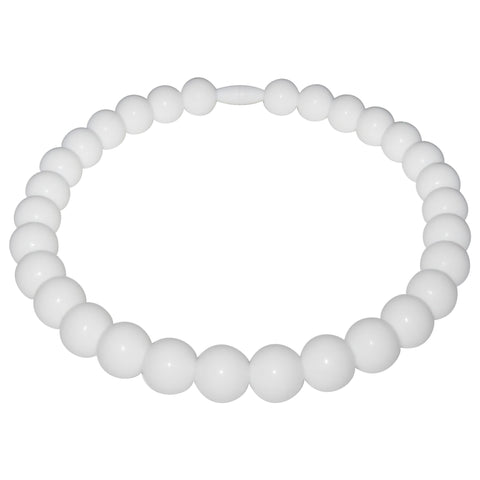 Pearl Baby Teething Necklace for children to wear-Made With 100% Food Grade Silicone