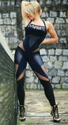 Brazilian Workout Jumpsuit  - Fusion Black