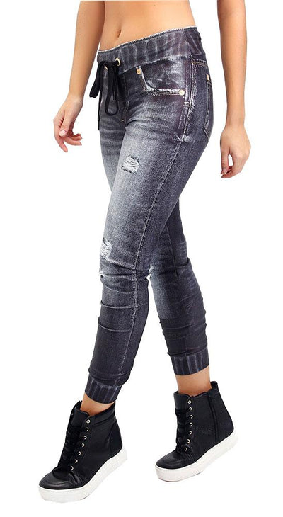 Brazilian Fake Jeans - Denim Jogger II
