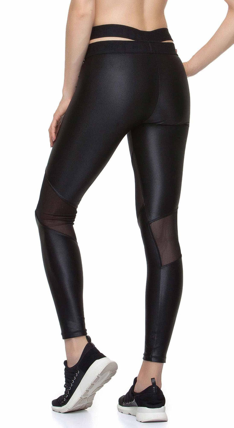 Yoga Pants - Sublime Liquid Black